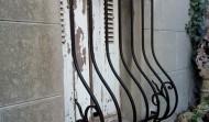 grille de défense en barreaux galbés en Fer