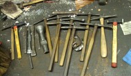 marteau de repoussage spécifique forgé en interne