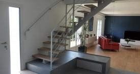 Escalier Quart-tournant en métal à Toulouse