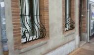 Grilles de Fenêtre en Fer Forgé