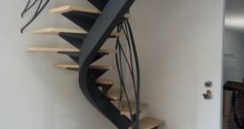 Escalier Balance en Acier à Toulouse