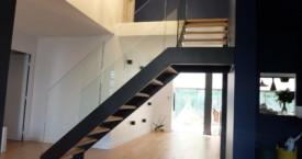Escalier Moderne en Acier
