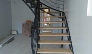 Escalier ajouré en acier