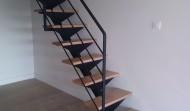 Escalier pour Mezzanine en Acier